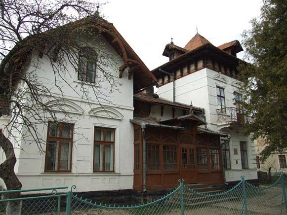 Image - Deliatyn: the building of the Marko Cheremshyna Memorial Museum.